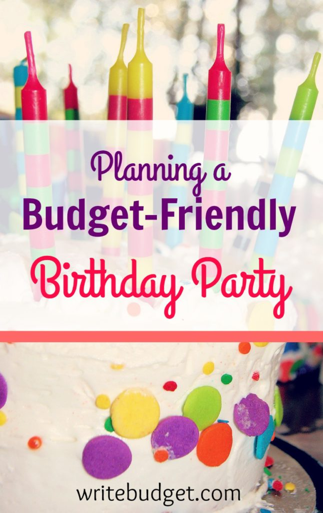 budget birthday