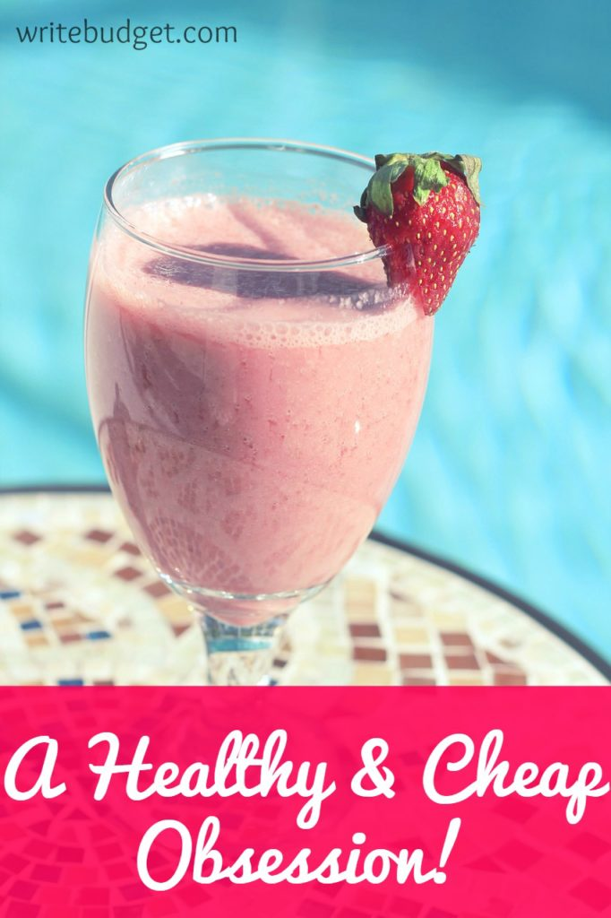 homemade smoothie drink
