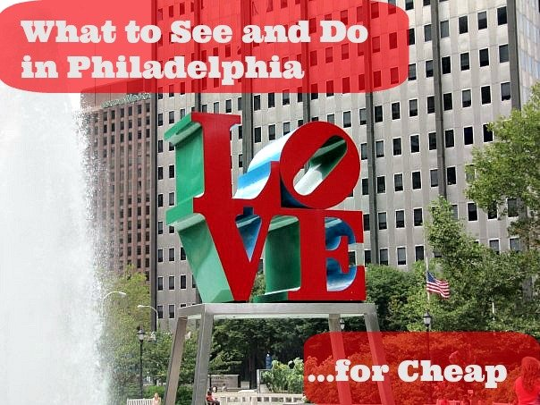 budget travel philly