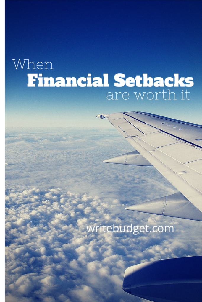 financial setbacks