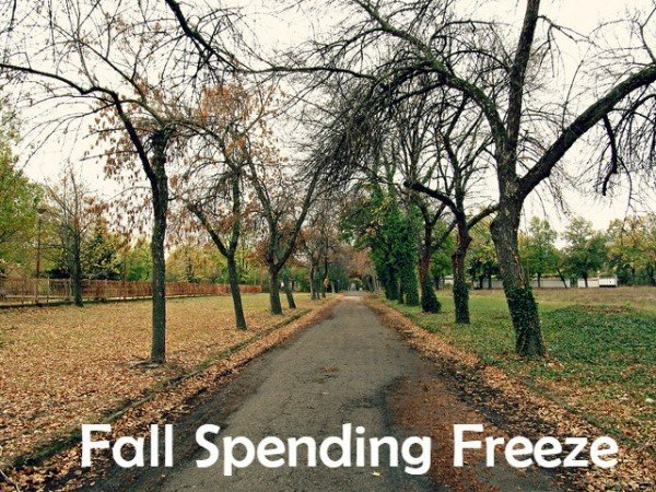 taking on a spending freeze