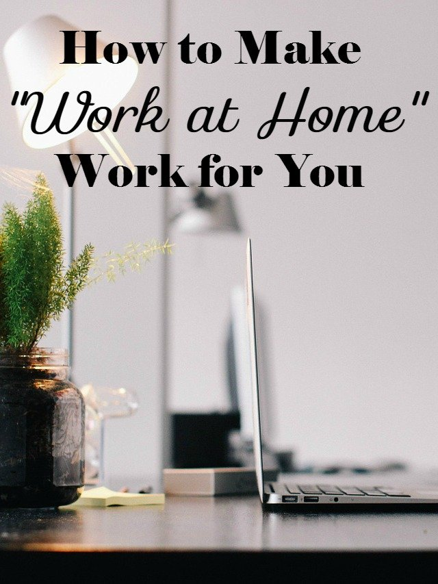 Tips on how to make working at home work for you so that you stay productive