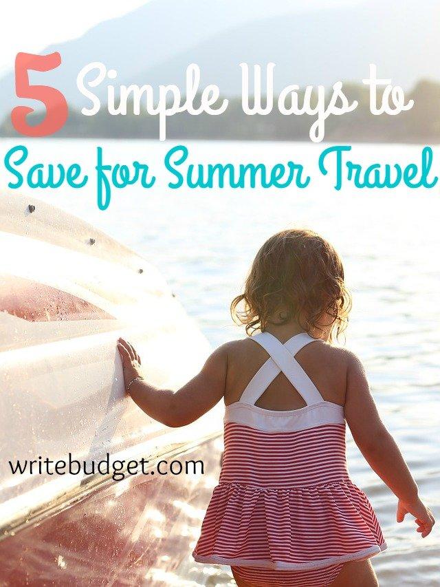save summer travel