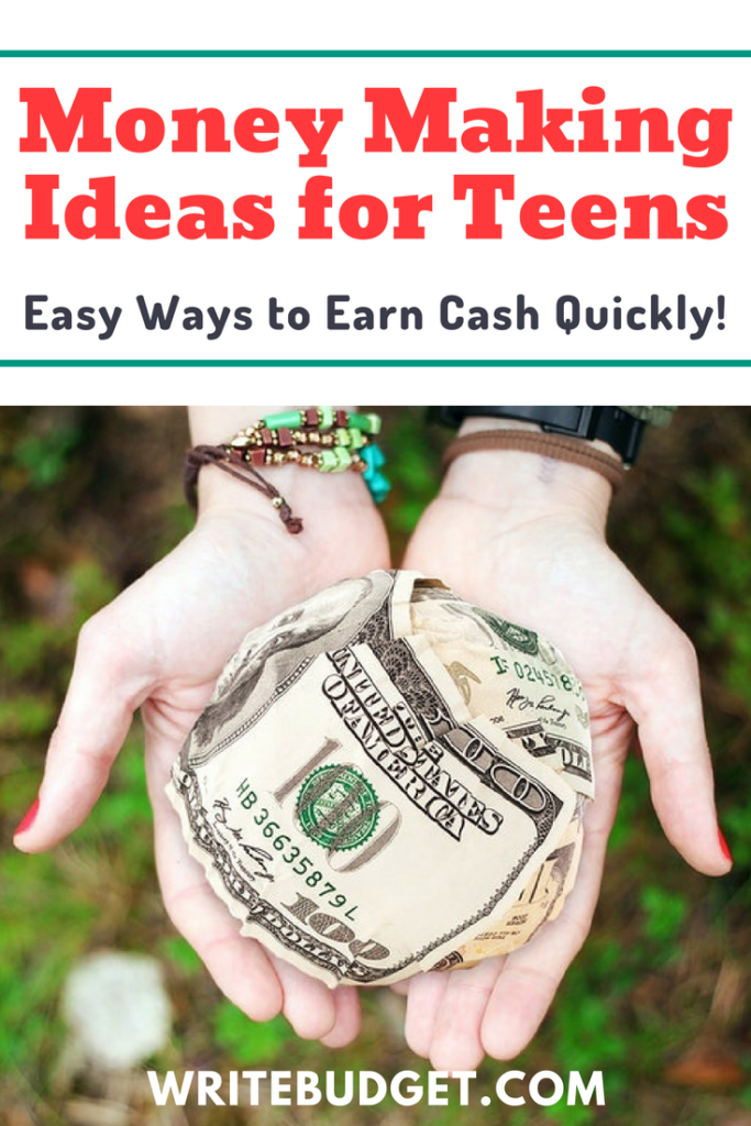 teens make money
