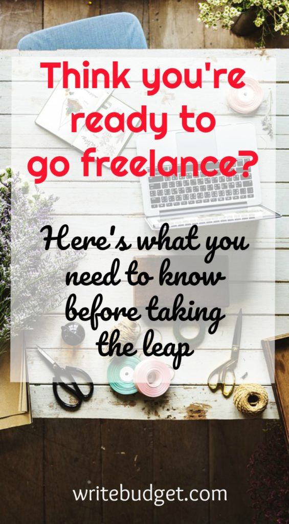 Read this before going freelance