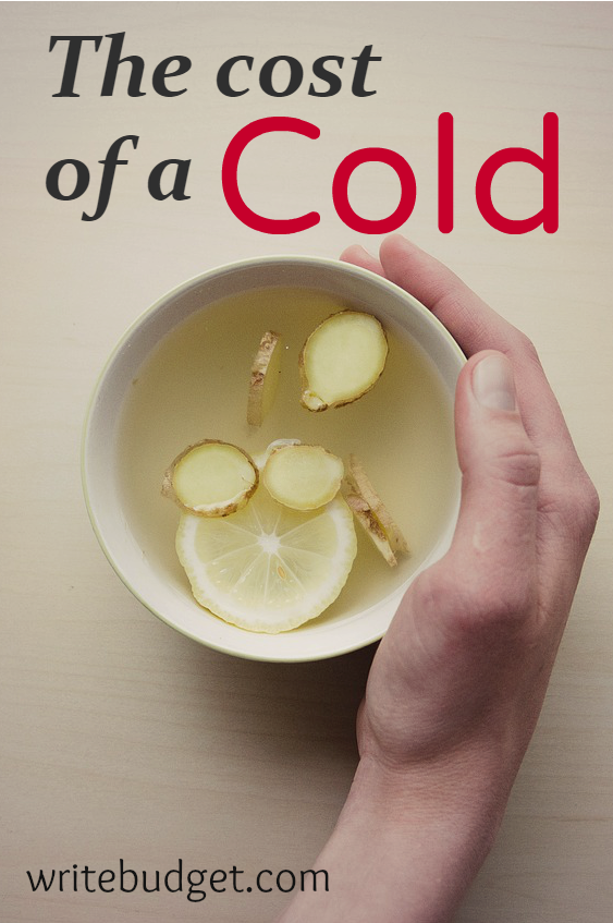 cost of a common cold