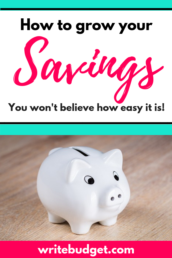 How to grow your savings fast