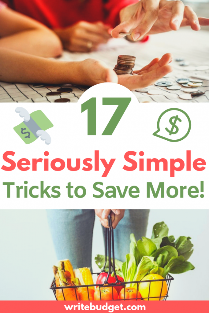 Save more with these tricks