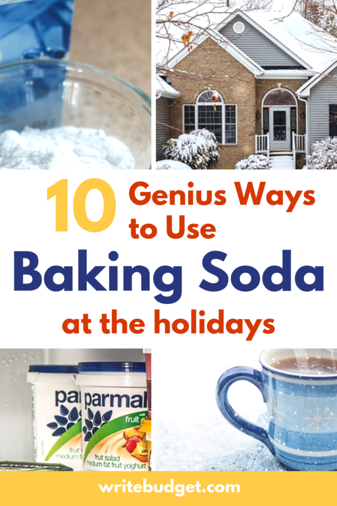 Creative uses for baking soda