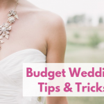 Budget wedding tips