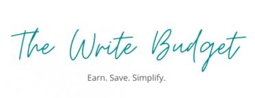The Write Budget